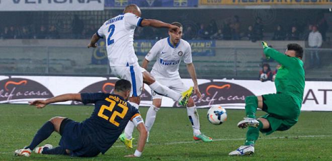 Jonathan gol Hellas Verona-Inter