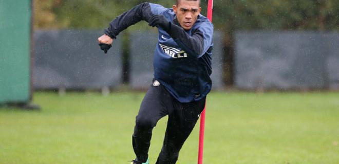 Juan Jesus allenamento Inter