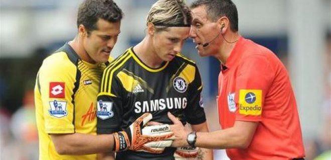 Julio Cesar QPR-Chelsea