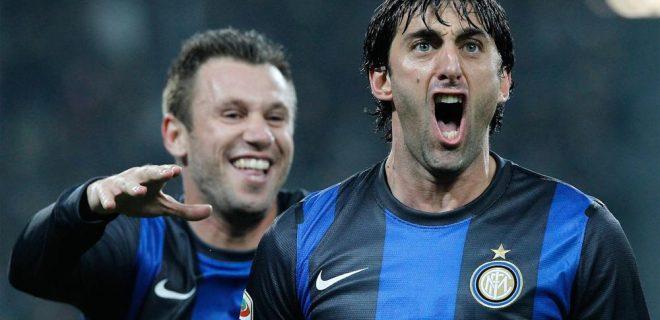 Juventus-Inter, Cassano Milito