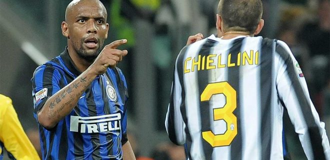 Juventus-Inter Maicon-Chiellini