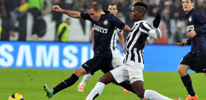 Juventus-Inter Palacio Pogba