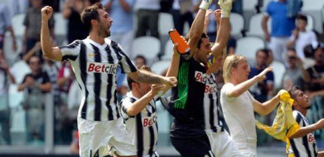 Juventus Vucinic-Buffon