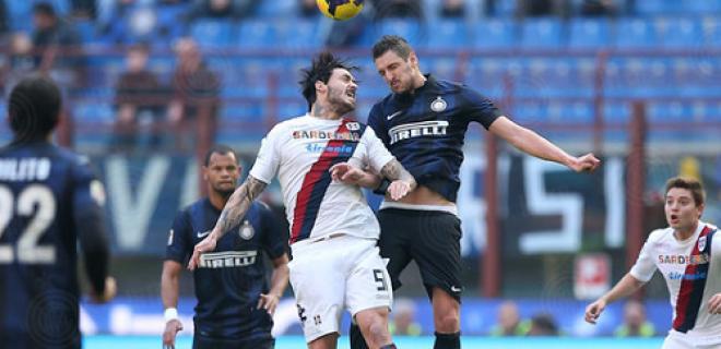 Kuzmanovic Inter-Cagliari