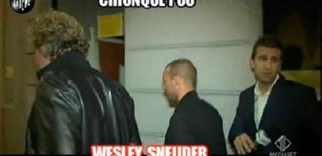 Le Iene servizio Sneijder