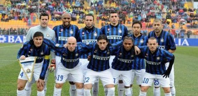 Lecce-Inter foto squadra