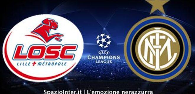 Lille-Inter Champions League LIVE