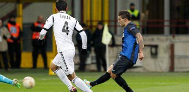 Livaja Inter-Neftçi gol