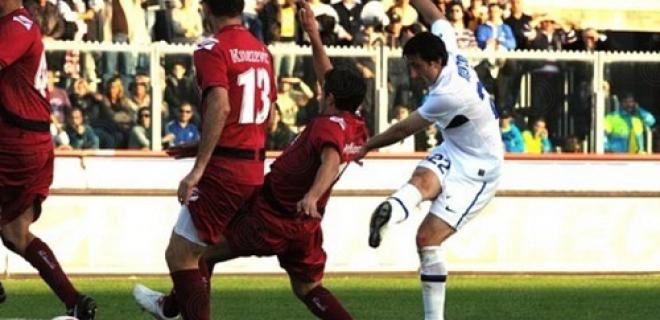 Livorno-Inter, Milito 2010