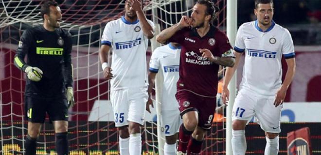 Livorno-Inter gol Paulinho