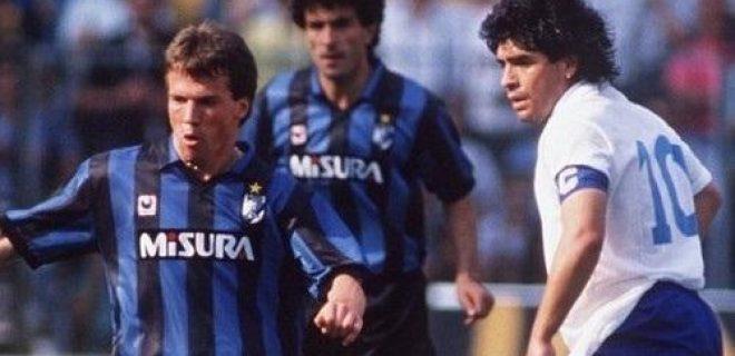 Lothar Matthaus Maradona