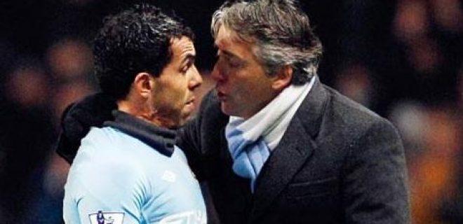 Mancini-Tevez