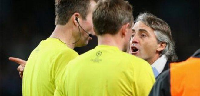 Mancini arbitro ManCity-Ajax
