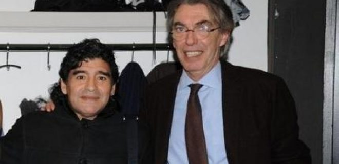 Maradona Moratti