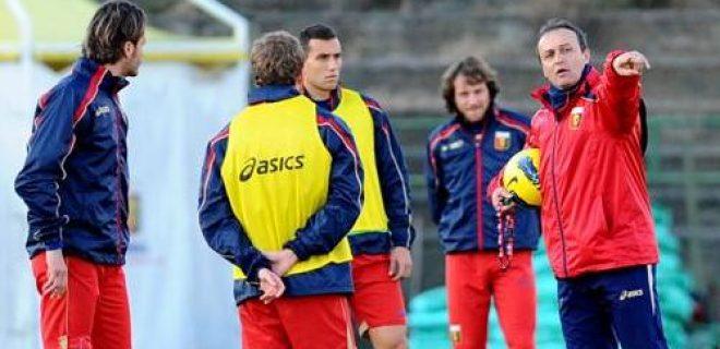 Marino Genoa allenamento
