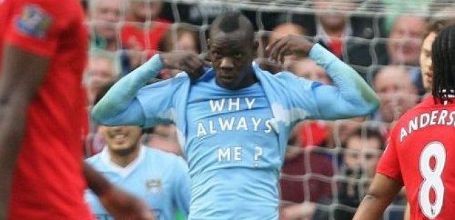 Mario Balotelli derby Manchester