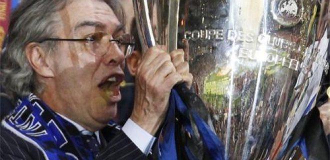 Massimo Moratti Champions 2010