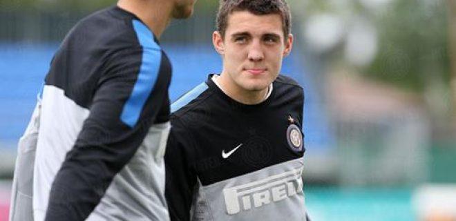 Mateo Kovacic allenamento Inter