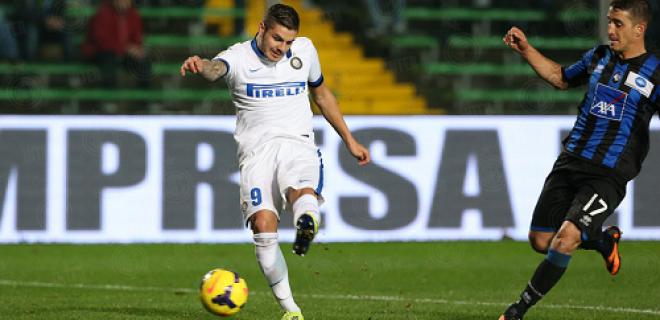 Mauro Icardi Atalanta-Inter