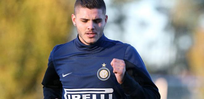 Mauro Icardi allenamento