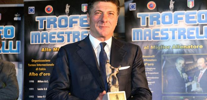 Mazzarri premio Maestrelli
