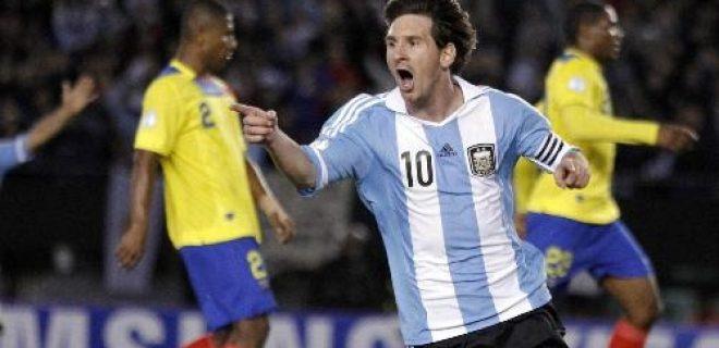 Messi Argentina-Ecuador