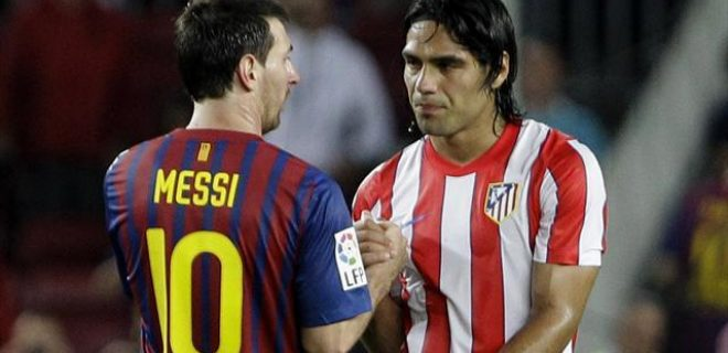Messi Falcao