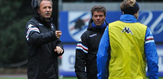 Mihajlovic allenamento Sampdoria