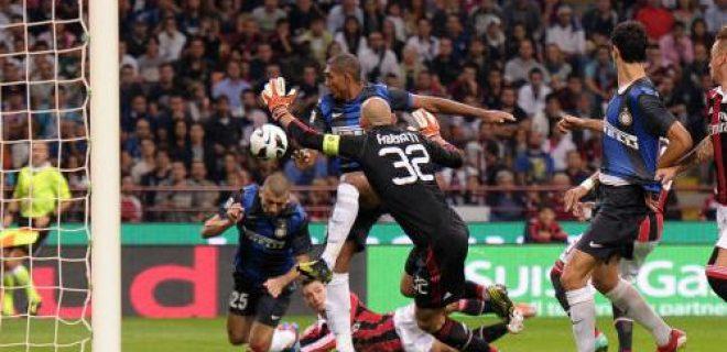 Milan-Inter 0-1 Samuel gol (2)
