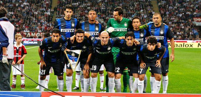 Milan-Inter 0-1 foto squadra