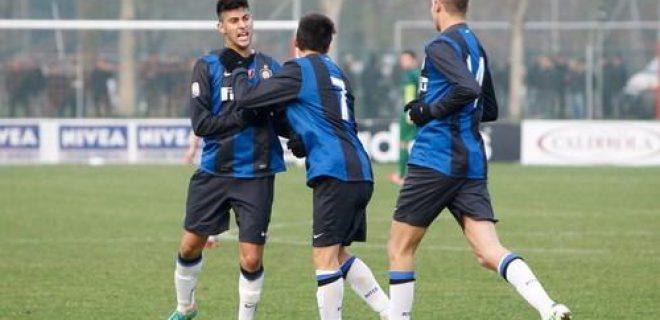 Milan-Inter 1-1 Primavera derby esultanza Benassi