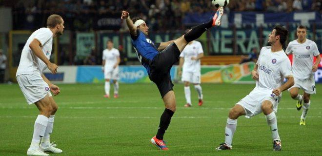 Milito Inter-Hajduk Spalato