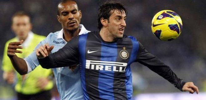 Milito Konko Lazio-Inter