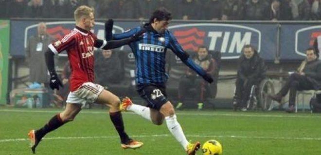 Milito Milan-Inter 15012012