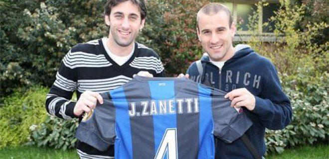Milito Palacio maglia Zanetti