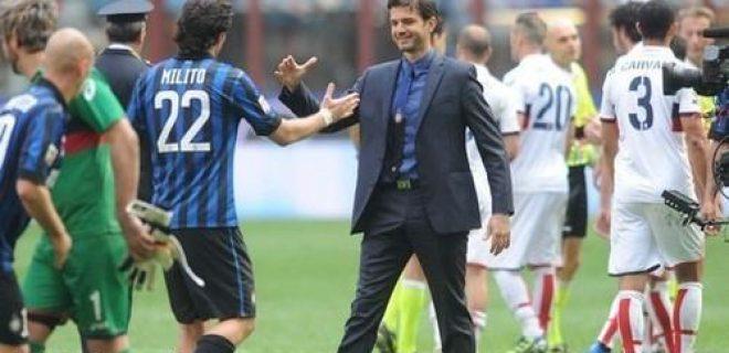 Milito Stramaccioni Inter-Genoa 5-4