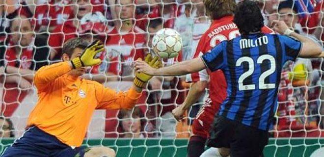 Milito gol Finale Champions 2010