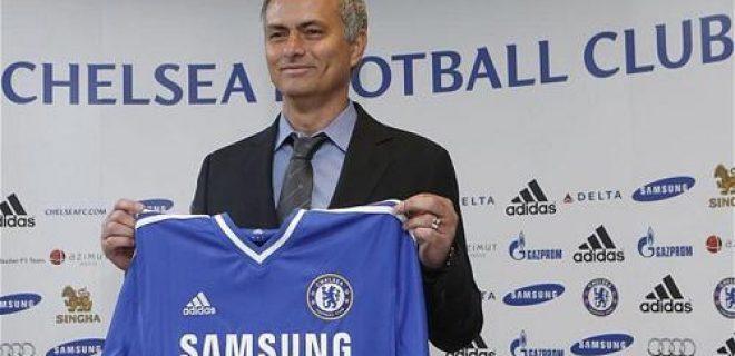 Mourinho Chelsea presentazione