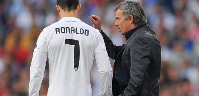 Mourinho Cristiano Ronaldo