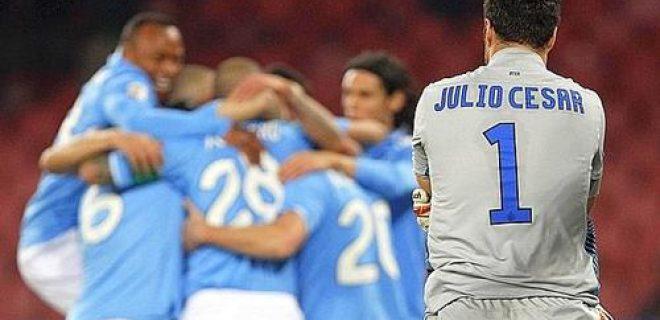 Napoli-Inter Julio Cesar