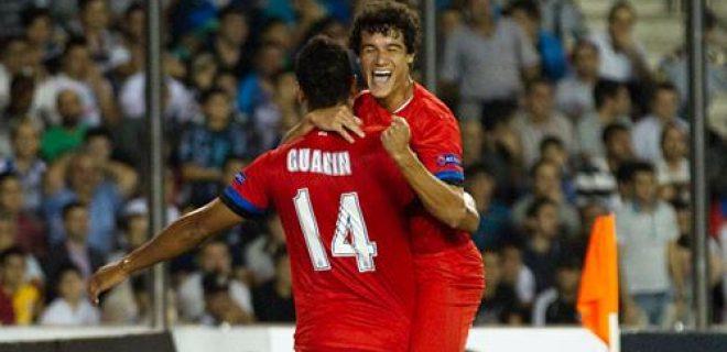 Neftçi-Inter Guarin Coutinho