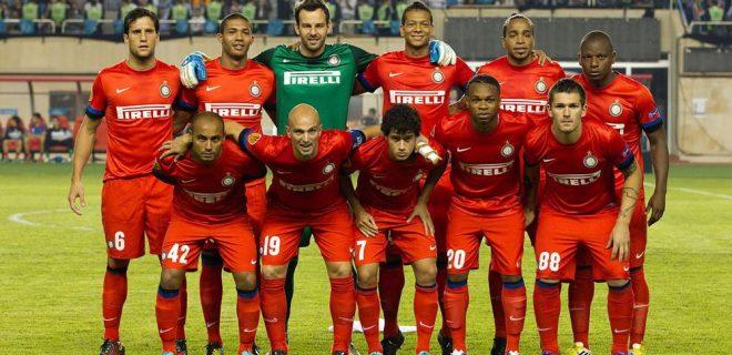 Neftçi-Inter foto squadra
