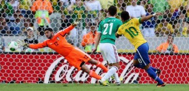 Neymar Brasile-Messico