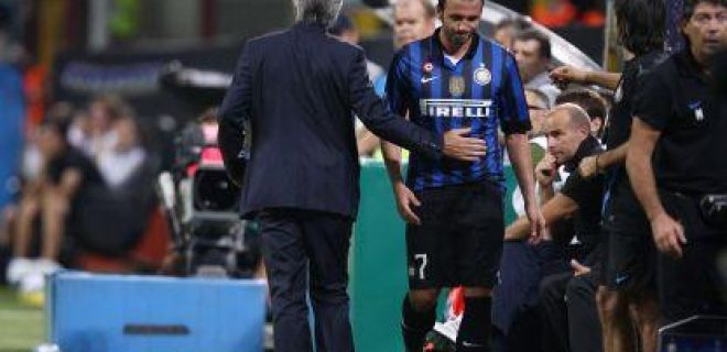 Novara-Inter Pazzini panchina