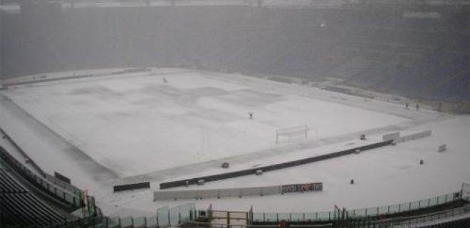 Olimpico Roma neve