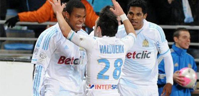Olympique Marsiglia Valbuena Remy
