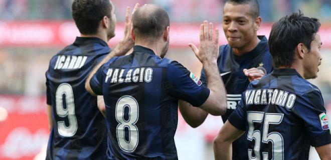 Palacio esultanza Inter-Torino