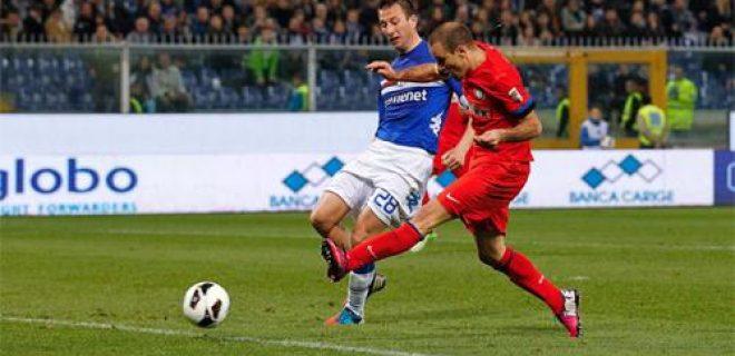 Palacio gol Sampdoria-Inter