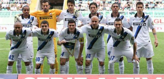 Palermo-Inter foto squadra