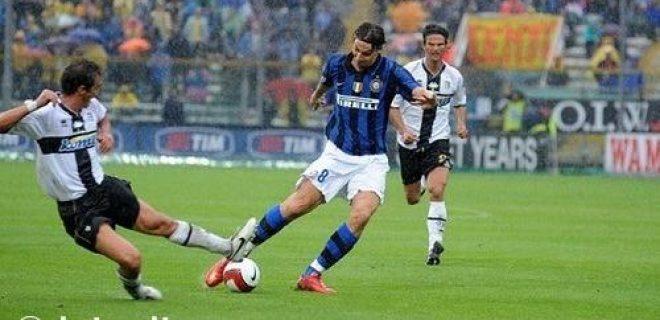 Parma-Inter 2008 Ibrahimovic